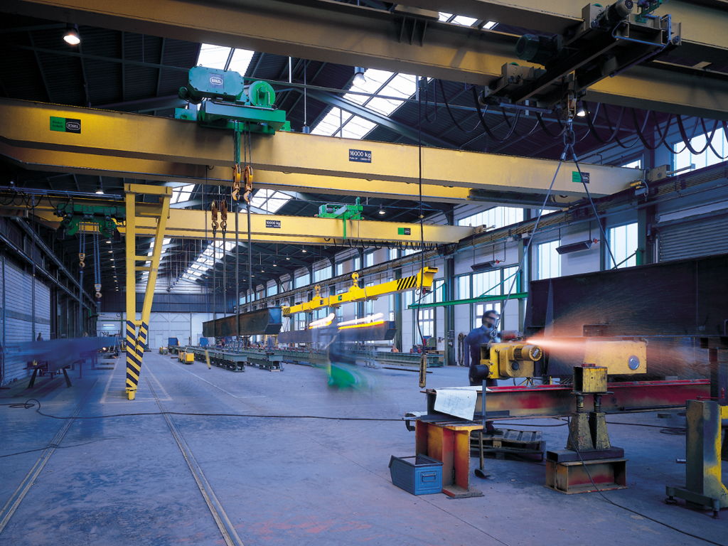 Top Running Overhead Cranes