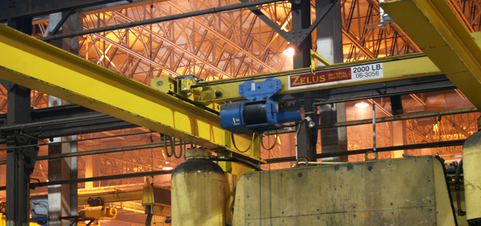 Top Running Single Girder Crane